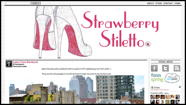Strawberry Stiletto Home Page
