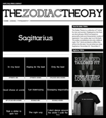 The Zodiac Theory Sagittarius T-Shirts
